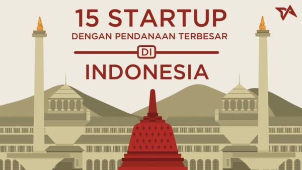 15 Startup Indonesia Dengan Pendanaan Terbesar