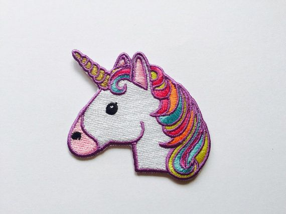 Unicorn Patch Iron On Embroidered Patches Applique Embroidery