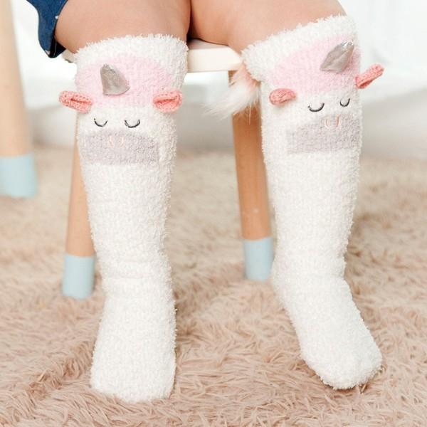 1 9 Animal Non Slip Socks For Children Baby Toddler Boys Girls