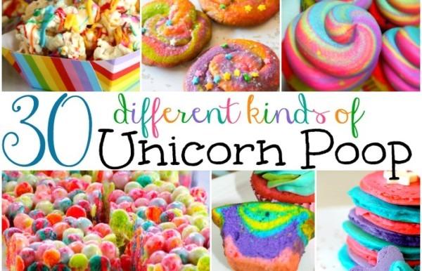 30 Ways To Make Unicorn Poop