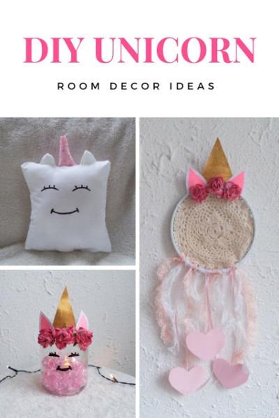 3 Diy Unicorn Room Decor Ideas