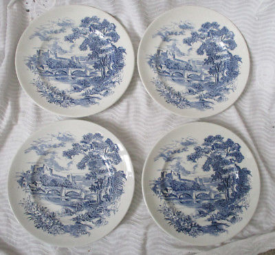 5 Wedgwood & Co  Ltd Countryside Teacups And Saucers