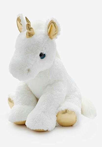 Amazon Com  Aurora Jumbo Metallic Unicorn Plush (justice Stores