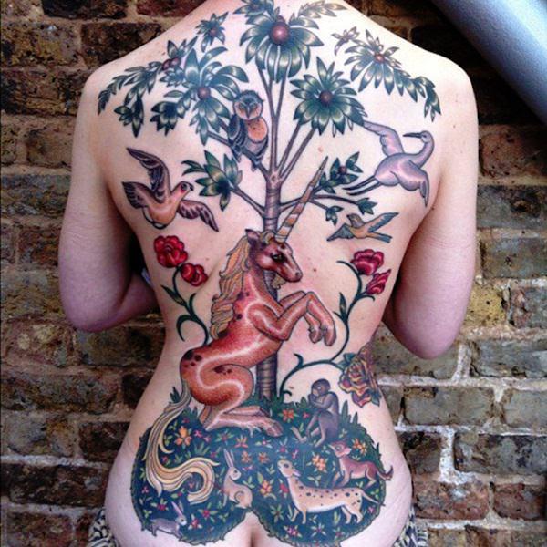 67 Intriguing Unicorn Tattoos Designs