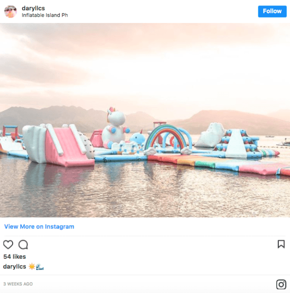 A Giant Floating Unicorn Island Exists And We Want To Go There