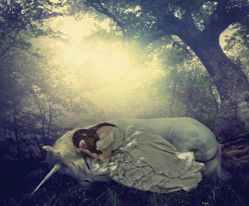 A Girl And Her Unicorn By =phatpuppyart On Deviantart