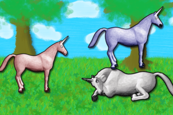 A Group Of Unicorns Is Called A Blessing  A Blessing Of Unicorns