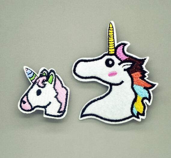 Aliexpress Com   Buy Set Of 2pcs Unicorn Patches Iron On Sewing