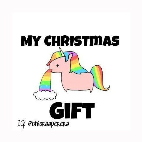 All I Want For Christmas Is A Unicorn💜 On We Heart It