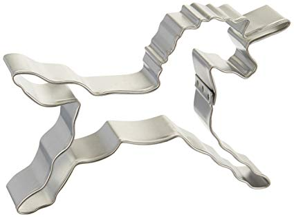 Amazon Com  4 5 Unicorn Cookie Cutter By R&m  Pony Cookie Cutter