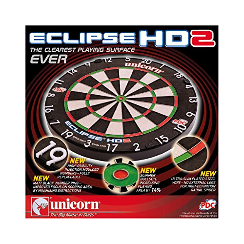 Amazon Com   Unicorn Eclipse Hd2 Bristle Dartboard   Sports & Outdoors