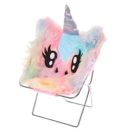 Amazon Com  Claire's Girl's Pastel Rainbow Unicorn Phone Holder
