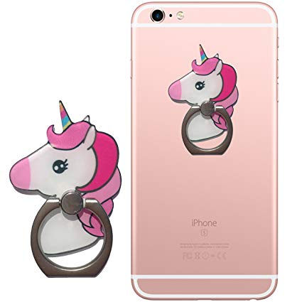 Amazon Com  Einhornliebe Finger Ring Stand Unicorn Cell Phone Ring