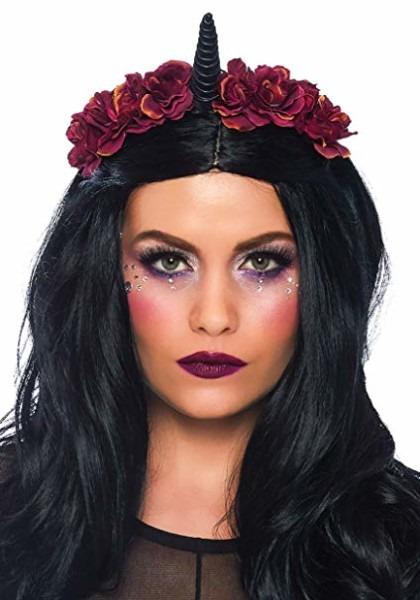 Amazon Com  Leg Avenue Women's Dark Velvet Unicorn Headband, Black