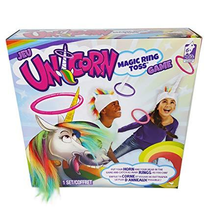 Amazon Com  Magic Unicorn Ring Toss Game  Toys & Games