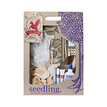 Amazon Com  Seedling My Magical Flying Unicorn Acitivity Kit  Toys