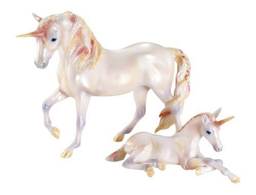 Amazon Com  Unicorn Mare And Foal Set