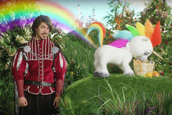 Unicorn Gold Spray Squatty Potty