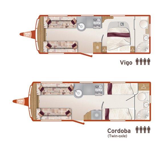 Bailey Announces New Caravan Layouts