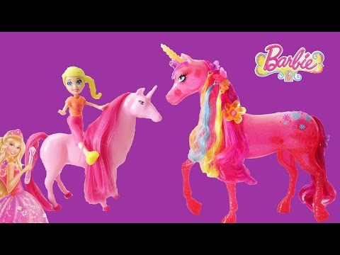 Barbie And The Secret Door Unicorns, Shopkins, Zelfs, Polly Pocket