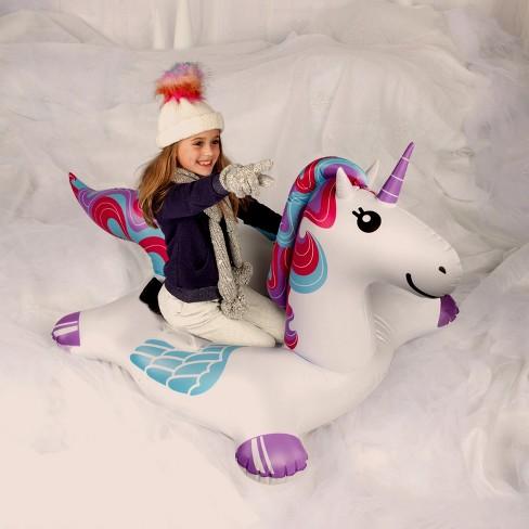 Big Mouth Snow Tube Unicorn