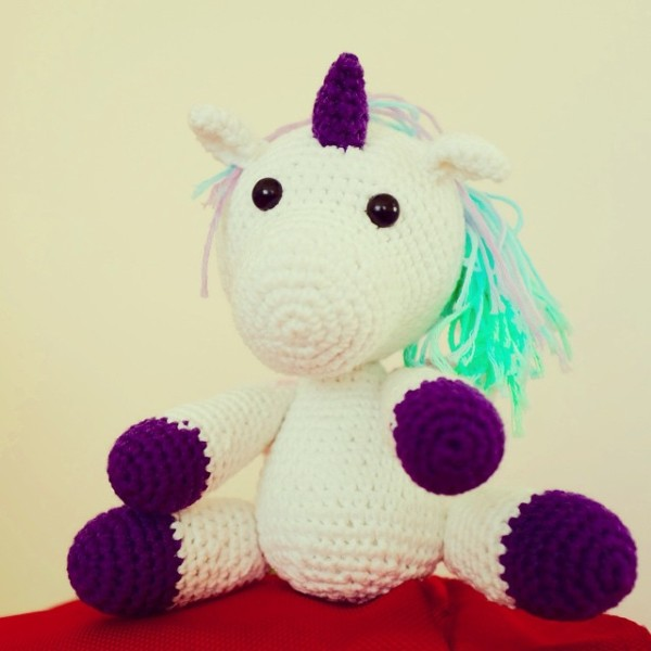 Can You Think Of Any Cute Unicorn Names For This New Toy  He Has A