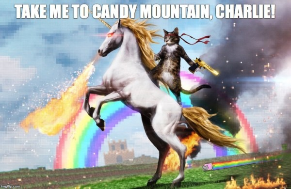 Candy Mountain  What Dreams Are Made Of
