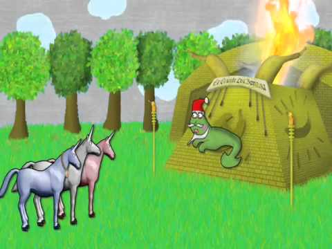 Charlie The Unicorn 2 With Lyrics