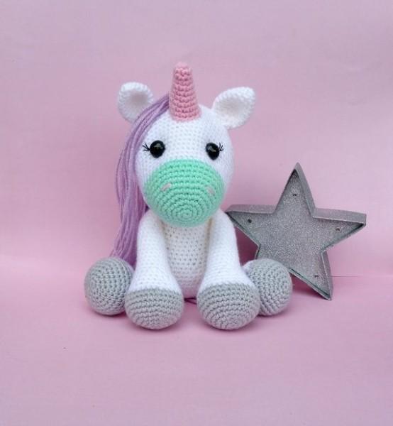 Crochet Pattern Pack, Unicorn Crochet Pattern, Horse Crochet