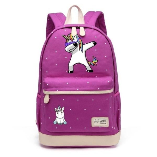 Dabbing Unicorn Backpack In 2018