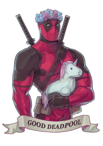 Deadpool  Unicorn     Those Two Words Are Rarely Seen Together