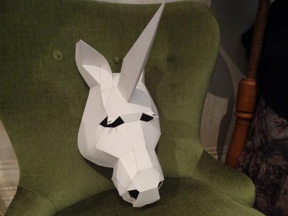 Diy Halloween Mask, Unicorn Mask, Halloween Mask, Horse Head Mask