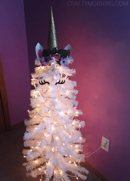 Diy Unicorn Christmas Tree