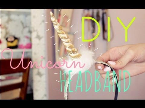 Diy Unicorn Headband Tutorial!