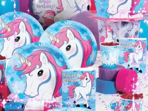 Enchanted Unicorn Birthday Party Supplies