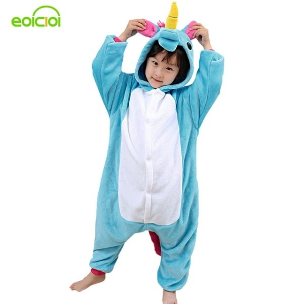 Eoicioi Pajamas For Boys Children's Christmas Pajamas Blue Pink