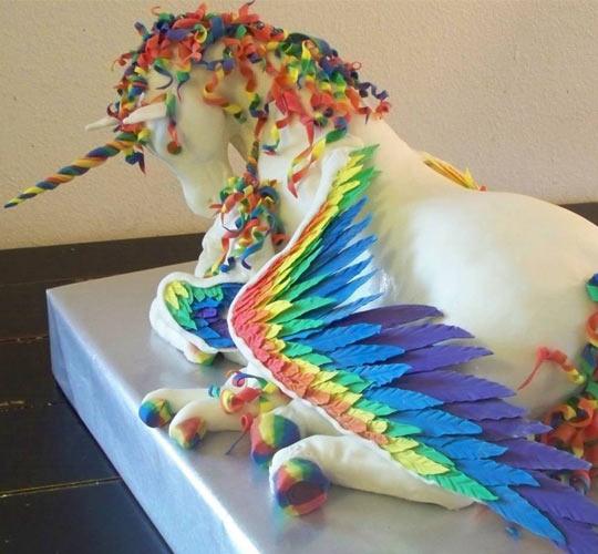 Epic Unicorn Cake