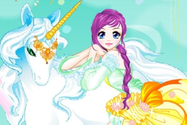 Fairy And The Unicorn Dress