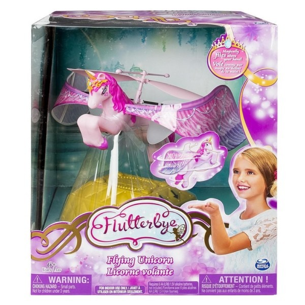 Flutterbye Flying Unicorn ~ Flies Like A Helicopter Sparkly Fairy
