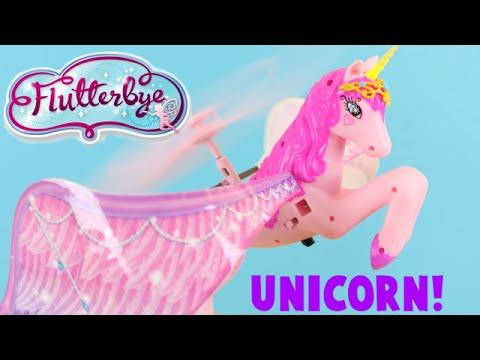 Flutterbye Flying Unicorn Toy Review