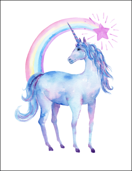 Unicorns For Girls