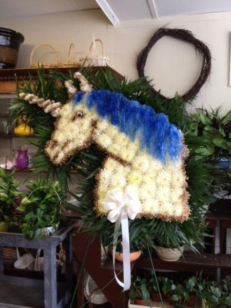 Funeral Arrangement Unicorn