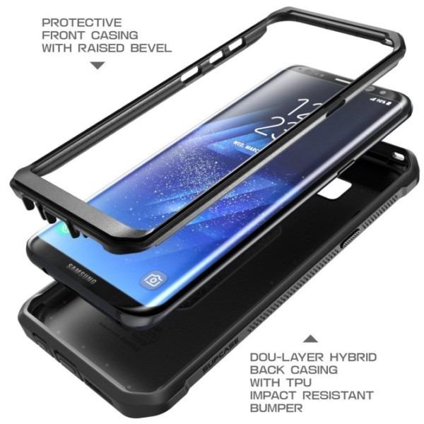Galaxy S8 Unicorn Beetle Pro Full Body Rugged Holster Case