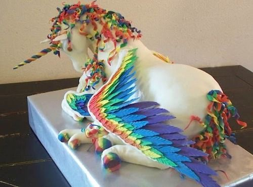 Giant Unicorn Cake