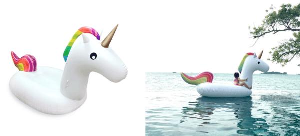 Giant Unicorn Inflatable Pool Float For $26 99 Shipped (reg $39 99