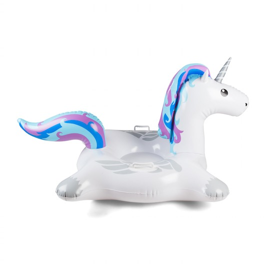 Giant Unicorn Inflatable Snow Tube