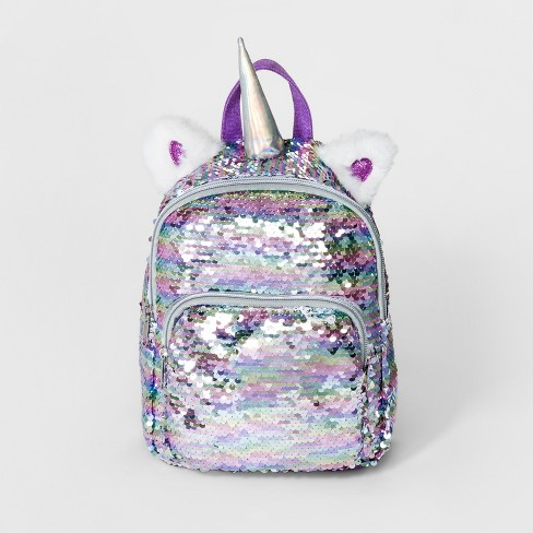 Girls' Sequin Unicorn Mini Backpack