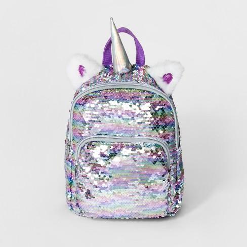 Girls' Sequin Unicorn Mini Backpack