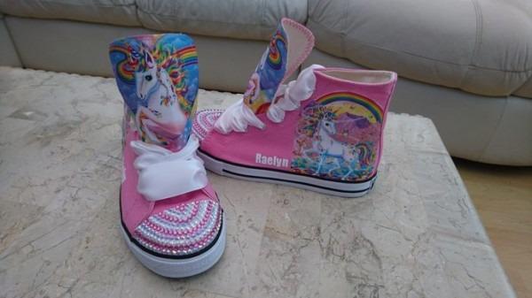 Girls Unicorn Boots
