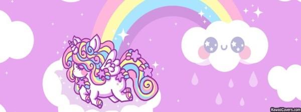 Facebook Rainbow Unicorn